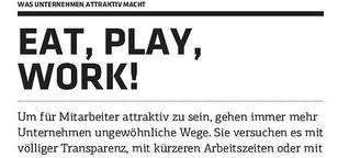 Eat, Play, Work!