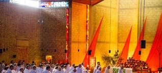 Taizé: Sehnsuchtsort für Menschen weltweit (Archiv der Pilger)