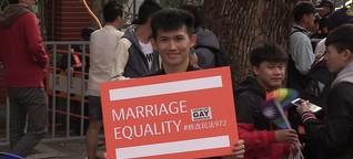 Taiwans Streiter für Homo-Ehe vor Teilerfolg