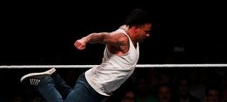 Wieses Wrestling-Debüt: Die Maschine hält mit - SPIEGEL ONLINE - Sport