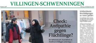 Check: Antipathie gegen Flüchtlinge