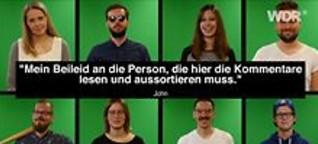 Hate Speech | WDR Facebook