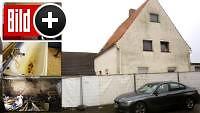 *** BILDplus Inhalt *** Exklusiv: So lebte das Folterpaar - BILD im Horror-Haus von Höxter