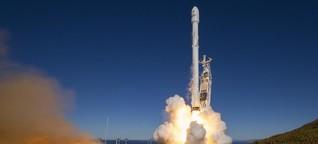 Ein Stückchen Weltall für Elon Musk
