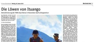 Die Löwen von Ituango - Bericht aus einem FARC-Camp