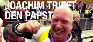 Joachim trifft den Papst