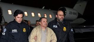 """Drogenboss """"El Chapo"""": Mexikos Einstandsgeschenk für Donald Trump - SPIEGEL ONLINE - Panorama"""