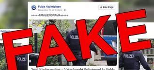Hunderte Artikel über ein Familiendrama in deiner Nähe sind Fake News