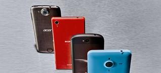 Fünf Smartphones mit fünf besonderen Ideen - von Acer über YotaPhone bis Samsung Edge