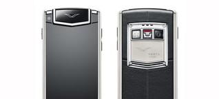 Luxus-Smartphones: Vertu Ti. Interview mit Chefdesigner Hutch Hutchison
