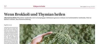 Wenn Brokkoli und Thymian heilen