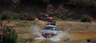 Rallyetagebuch von Team KITT