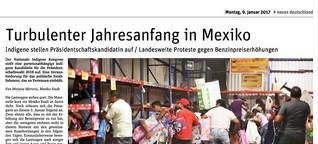 Turbulenter Jahresanfang in Mexiko