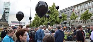 Mannheim: Mahnwache für Opfer von Orlando am Paradeplatz