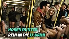 No Pants Subway Ride Berlin 2017