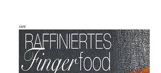 Raffiniertes Fingerfood