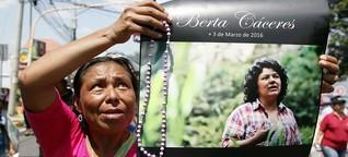 Eine lebensgefährliche Aufgabe: Umweltschützer in Honduras