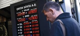 Schwache Lira: Droht der Türkei eine Finanzkrise?