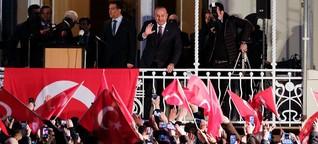 Türkischer Wahlkampf im Norden: Erdoğan auf Stimmenfang