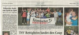 Kreispokalfinale Heidelberg