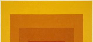 Farben denken: Vom revolutionären Gehalt Josef Albers