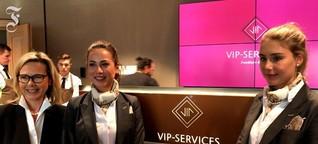Video vom Flughafen Frankfurt: Neuer Luxus für die VIPs