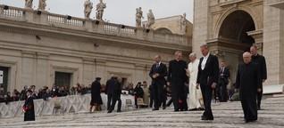 Die ewige Stadt Rom: meine Begegnung mit Papst Franziskus