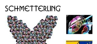 Schmetterling der bunten Kunst
