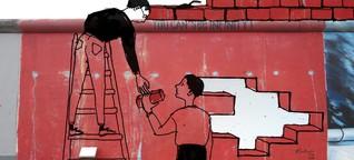 Fünf Illustrationen zeigen, ob Deutschland wirklich wiedervereinigt ist