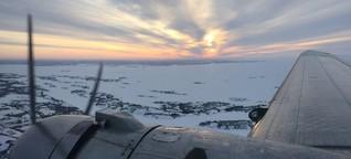 Winterferien in Yellowknife: Im Rosinenbomber übers Eis - SPIEGEL ONLINE - Reise [1]