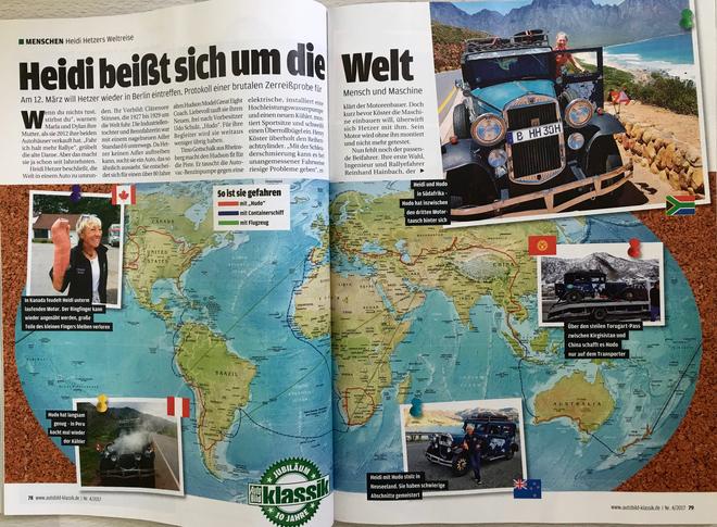 Heidi beißt sich um die Welt