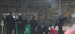 Ausschreitungen bei Cottbus-Spiel in Babelsberg: Harte Strafen für Cottbuser Randale-Fans - Nachrichten aus Brandenburg und Berlin