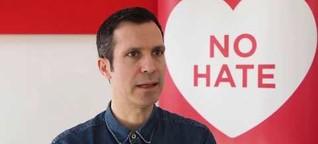 Interview mit Hannes Ley, Gründer von #ichbinhier