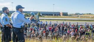 Punishing those who help refugees - 'a perverse logic'