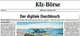 Fahrbericht VW Golf: Der digitale Durchbruch