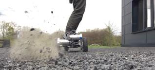 90 Zentimeter, 30 Sachen: Bochumer Studenten entwickelten Longboard mit Elektromotor