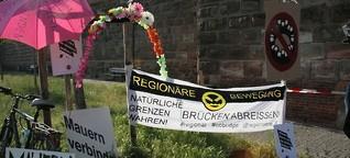 """Lachanfälle und viel Pathos: Ende für """"Noris ohne Mauer"""""""