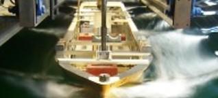 Ozeanriesen im Test - Auf großer Fahrt im kleinen Becken