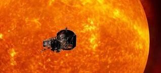 Brenzlige Reise zur Sonne