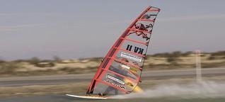 Speedsurfen: Mit 90 Sachen übers Wasser fliegen - SPIEGEL ONLINE