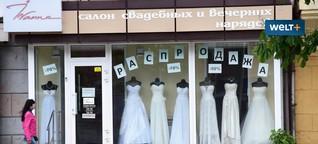 Heiraten in Mariupol: Diese Frontstadt ist das Las Vegas der Ukraine