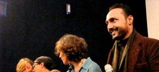 Aparna Sen and Rahul Bose at River to River. Florence Indian Film Festival