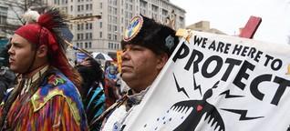 Öl fliesst unter dem Missouri - Update Dakota Pipeline
