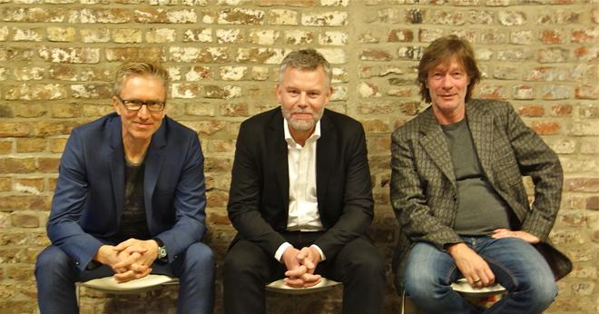 Moderation mit Arne Dahl und Gerd Köster