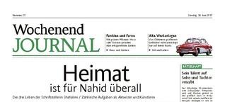 Die drei Leben der Schriftstellerin Nahid Shahalimi