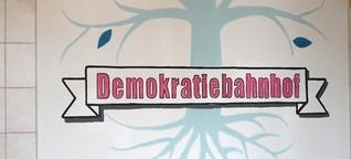 Demokratiebahnhof Anklam: Zusammen die Zukunft gestalten | Kultur öffnet Welten!