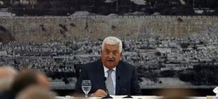 Abbas bricht Kontakte zu Israel ab