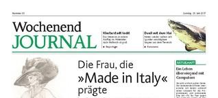 """Die Frau, die """"Made in Italy"""" prägte"""
