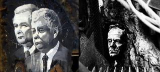 Hintergrund: die enge Feindschaft des Donald T. und Jarosław K.