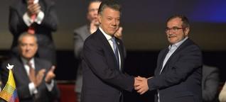 Neuer Friedensvertrag für Kolumbien - Ein Handschlag der Hoffnung für die Welt